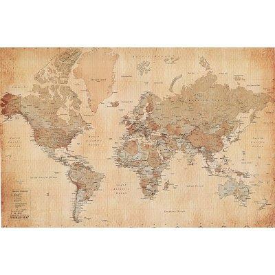 Vintage Map Wall Art Ellie Decor - Buy vintage maps